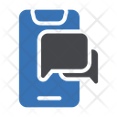 Mobile Chat Messages Phone Icon