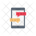 Chat Messages Mobile Icon