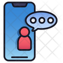 Mobile Chat Mobile Message Icon