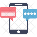 Mobile Chat Sms Chat Icon