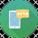 Mobile Chat Bubble Chat Bubble Icon