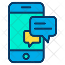 Online Chat Chat Bubble Mobile Icon