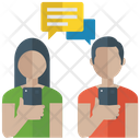 Mobile Chat Messaging Chatting Icon