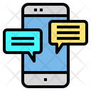 Mobile chat application Icon