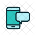Mobile Chatting Mobile Mobile Support Icon