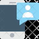 Mobile Massage Chatting Icon