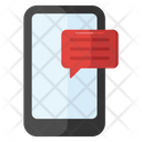 Mobile Chatting Mobile Communication Mobile Sms Icon