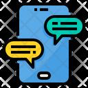 Chat Smartphone Conversation Icon