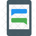 Chat Mobile Function Icon