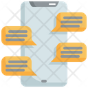 Mobile Chatting Chat Icon