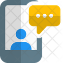 Mobile Chatting Mobile Communication Conversation Icon