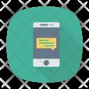 Mobile Chatting Mobile Chatting Icon