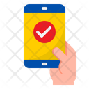 Mobile Check Check Done Icon