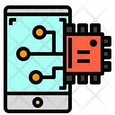 Mobile Chip Icon