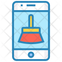 Mobile cleanup Icon