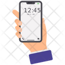 Mobile Clock Icon