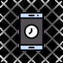Mobile Clock Icon