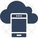 Mobile Cloud Icon