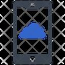 Mobile Cloud Icon
