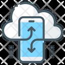 Mobile Cloud Cloud Installation Mobile Data Cloud Icon