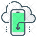 Mobile Apps Cloud Icon