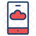 Cloud Mobile Phone Icon