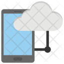 Mobile Cloud Computing Icon