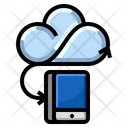 Mobile Cloud Connection Icon
