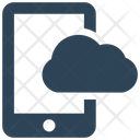 Mobile Cloud Drive Icon
