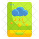 Mobile Cloud Storage Mobile Storage Cloud Computing Icon