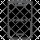 Mobile Code Mobile Password Smartphone Passcode Icon