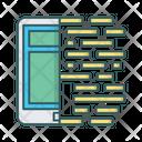 Mobile Coding Icon