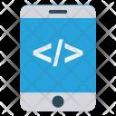 Mobile Coding Scripting Icon