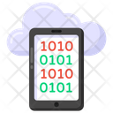 Phone Coding Mobile Coding Cloud Coding Icon