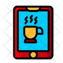 Mobile Coffee App Mobile Application Online Coffee App Icon