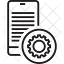 Mobile Cog Mobile Setting Mobile Repair Icon