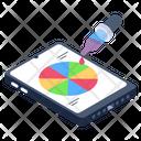 Color Palette Mobile Color Wheel Mobile Hue Wheel Icon