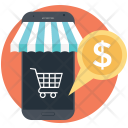 Mobile Commerce Ecommerce Icon