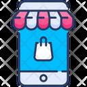 Mobile Commerce Shop Icon