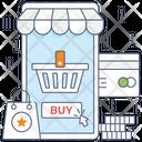 Mobile Commerce Icon