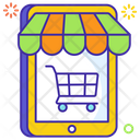 Smart Retail Online Shopping Online Spending Icon