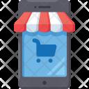 Mobile Shop Shopping Icon
