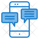 Mobile Application Mobile Chat Application Icon