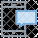Mobile Chat Bubble Icon