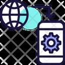 Mobile Communication Mobile Network Mobile Internet Icon