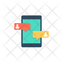Mobile Communication Chatting Icon