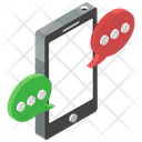 Mobile Communication Mobile Conversation Mobile Messaging Icon
