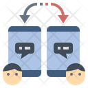 Online Relationship Chat Icon