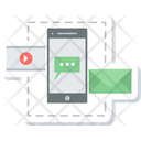 Mobile Communication Mobile Chat Sms Icon
