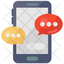 Mobile Communication Mobile Conversation Mobile Chat Icon